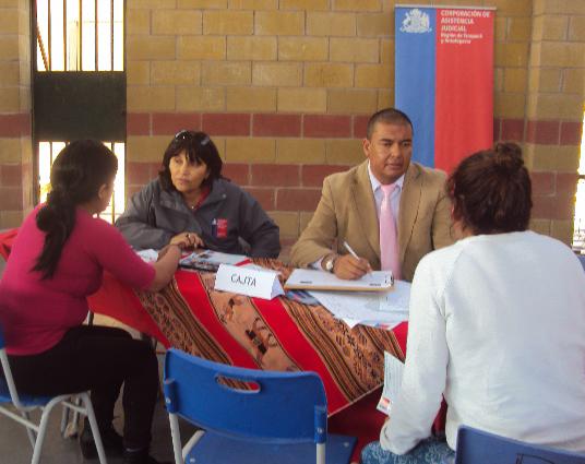 CAJTA Participa en Plaza de Justicia Desarrollada en el Centro de Cumplimiento Penitenciario de Acha, Región de Arica y Parinacota