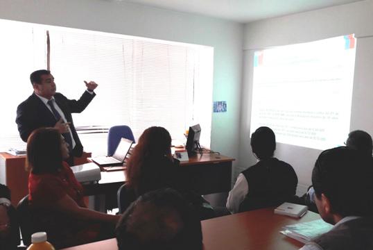 ODL Tarapacá Difunde sus Funciones ante la Inspección del Trabajo y Dirección Regional del Trabajo