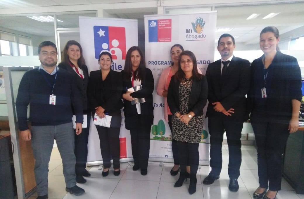 Programa Mi Abogado, Región de Tarapacá capacita a funcionarios del IPS