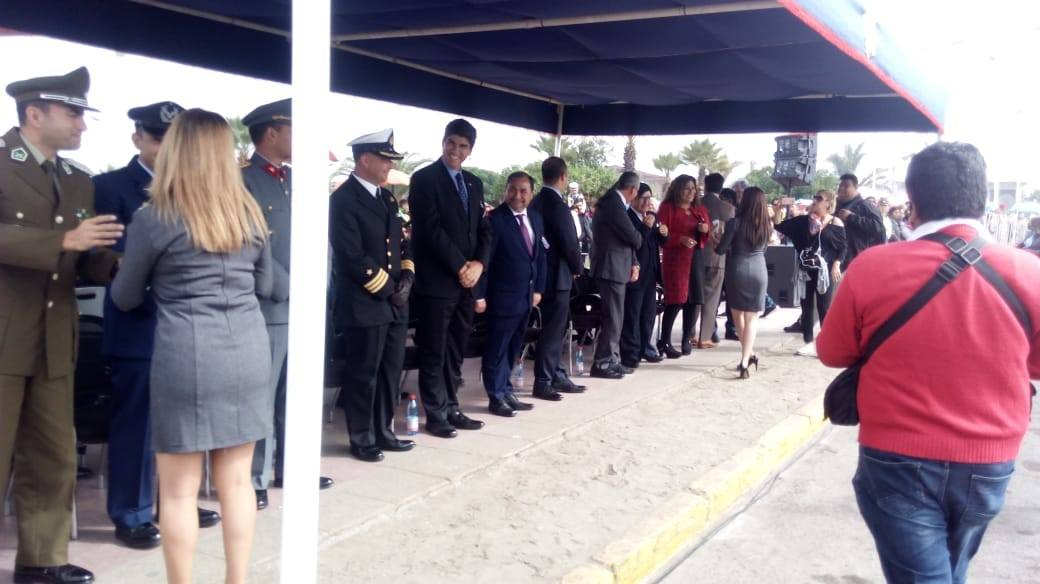 CAJTA presente en Desfile Cívico Militar