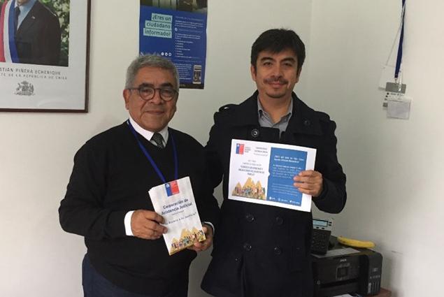 Reunión interinstitucional entre CAJTA y SENAMA