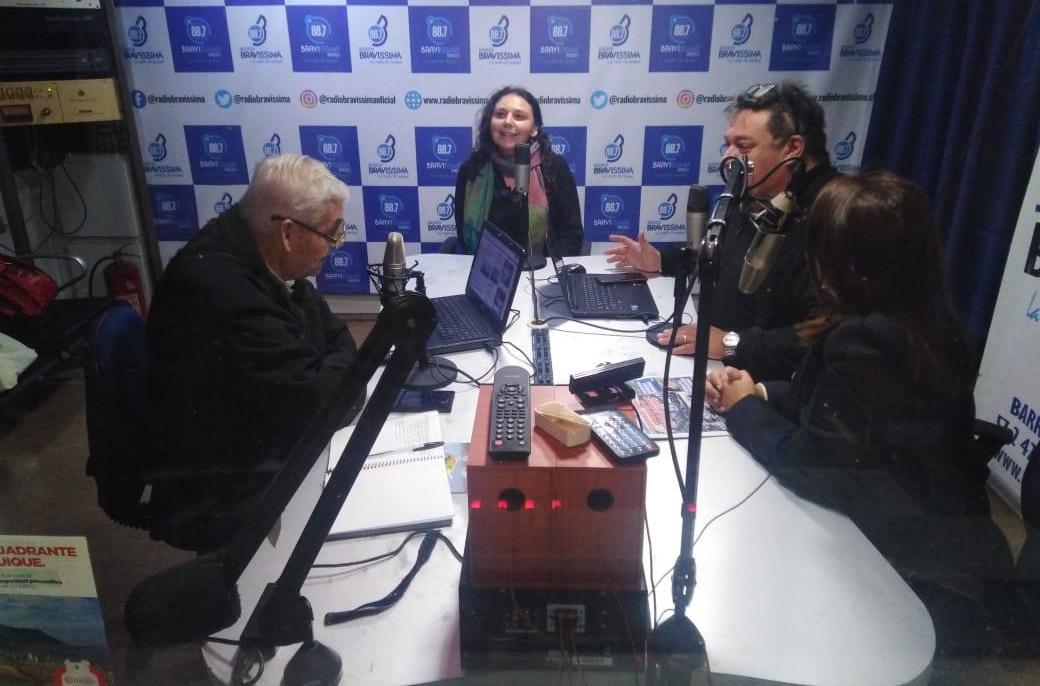 Programa Mi Abogado de Tarapacá participa en radio Bravissima de Iquique