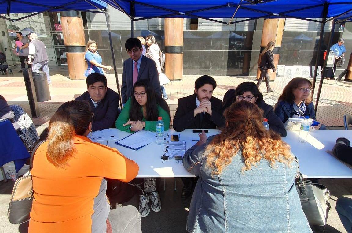 Unidades Jurídicas de Antofagasta Visualizan a las CAJ en EXPO MUJER