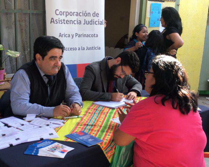 Consultorio Jurídico de Arica presente en Jardín Infantil y Sala Cuna Granito de Arena