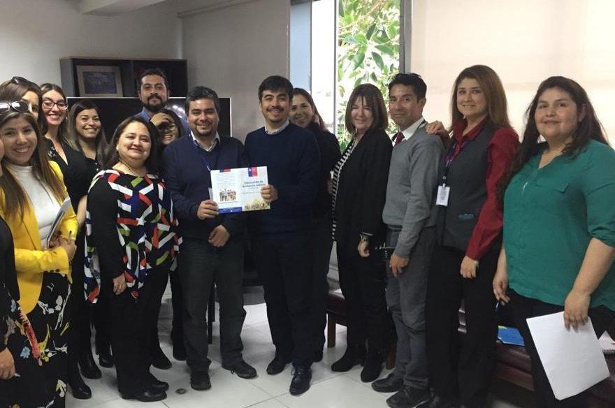 El Director Regional CAJTA Tarapacá se reúne con Director Regional (S) del IPS