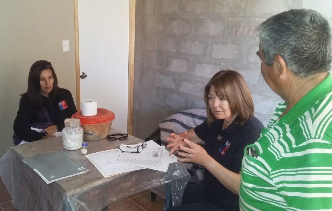 Consultorio Jurídico Móvil del Tamarugal presta atención en localidades de Huara y Chiapa