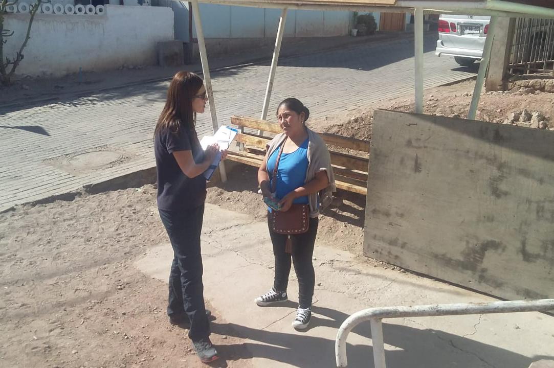 Consultorio Jurídico Móvil del Tamarugal presente en Matilla y Pica