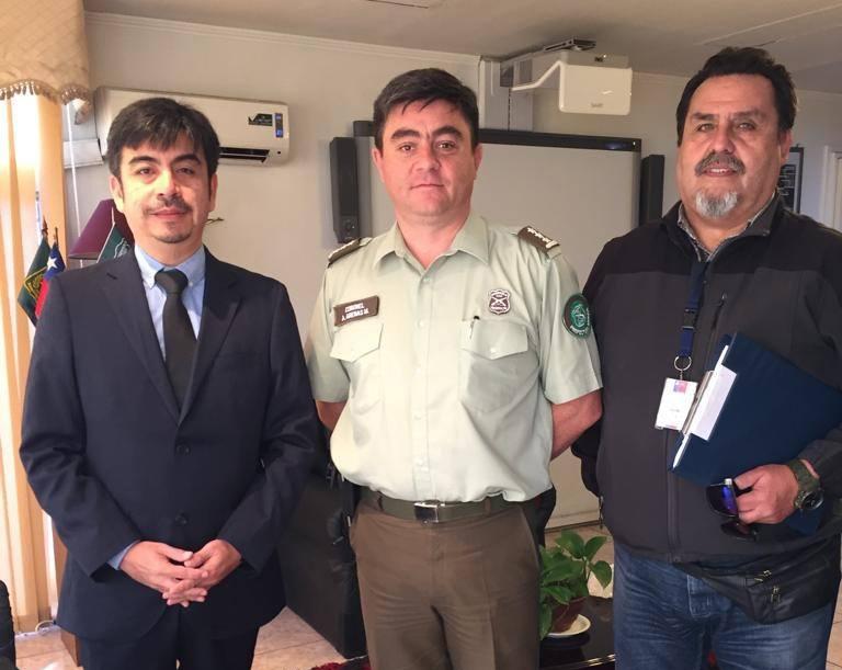 CAJTA presente en las dependencias de Carabineros de Iquique