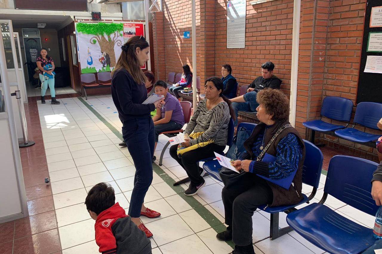 En Arica Informan sobre las Corporaciones y Discapacidad en Cesfam Víctor Bertín Soto