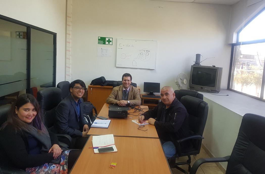 Abogado del Convenio CAJTA-SENADIS en la Región de Antofagasta realizó una exposición sobre legislación respecto a discapacidad