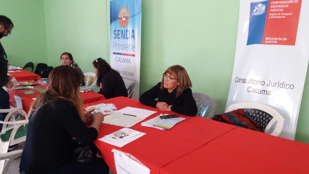 CAJTA participa en Gobierno en Terreno realizado en Sede de la Unión Comunal de Juntas de Vecinos de Calama
