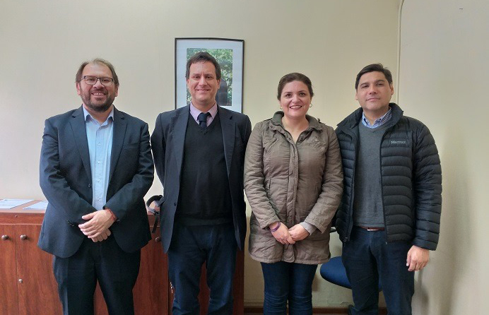 Director Regional de CAJTA Antofagasta se reúne con la Directora (S) de Senadis
