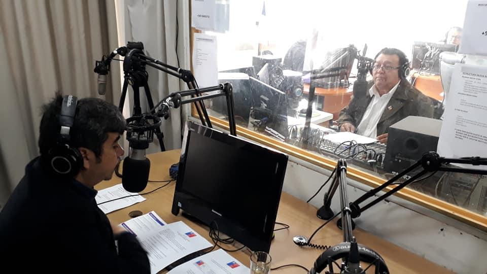 Director Regional de Tarapacá presente en Radio municipal de Iquique