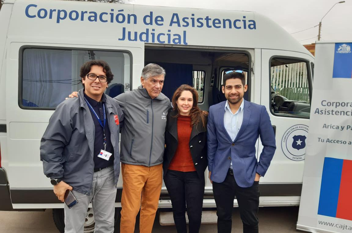 El Consultorio Jurídico Arica, participó en el Gobierno en Terreno desarrollado en Junta de Vecinos N° 49 Ancolacane I II III y IV