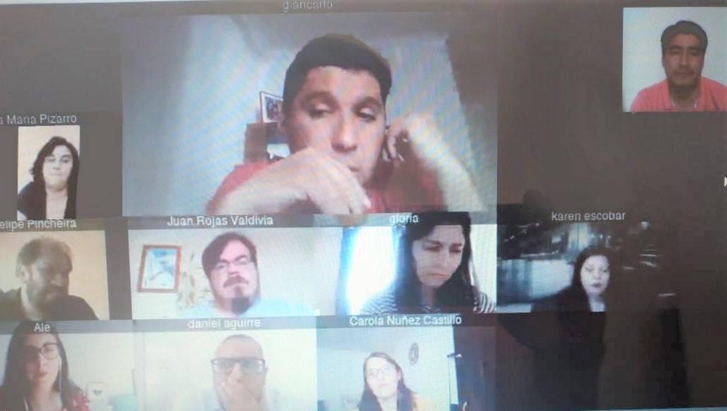 Reuniones de coordinación en la Región de Antofagasta