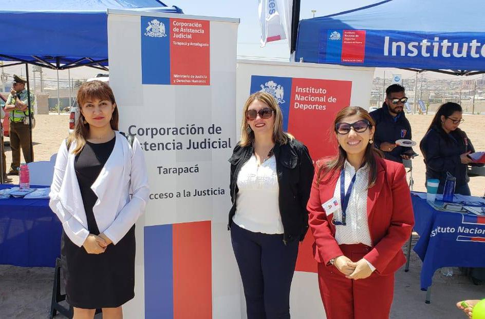 Consultorio Jurídico de Alto Hospicio participa en 3º Feria de Servicios