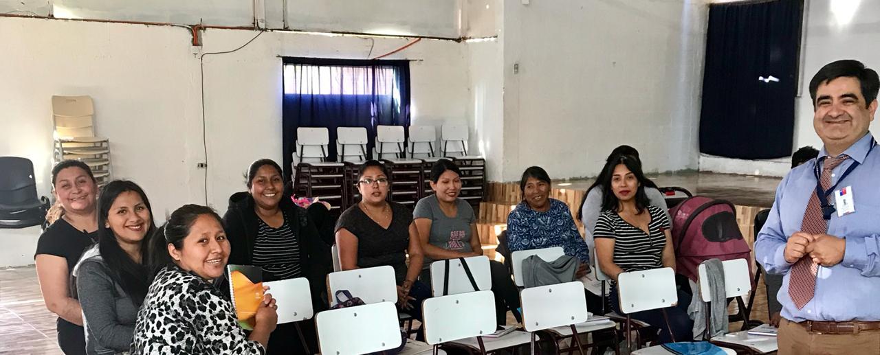Consultorio Jurídico de Arica ofreció charla a beneficiarias de Programa de Apoyo a la Dinámica Social