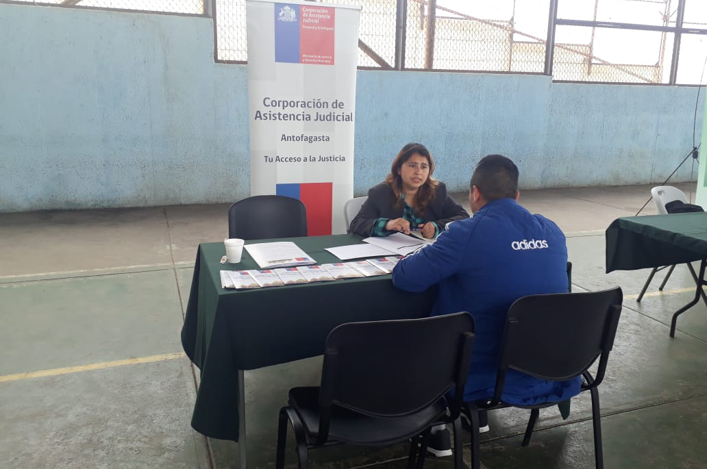 CAJTA presente en Plaza de Justicia Nº8 en Tocopilla