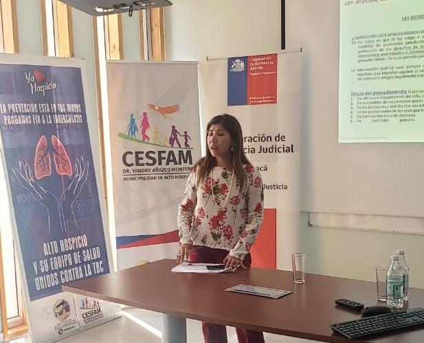 Consultorio Jurídico de Alto Hospicio lleva a cabo taller de difusión
