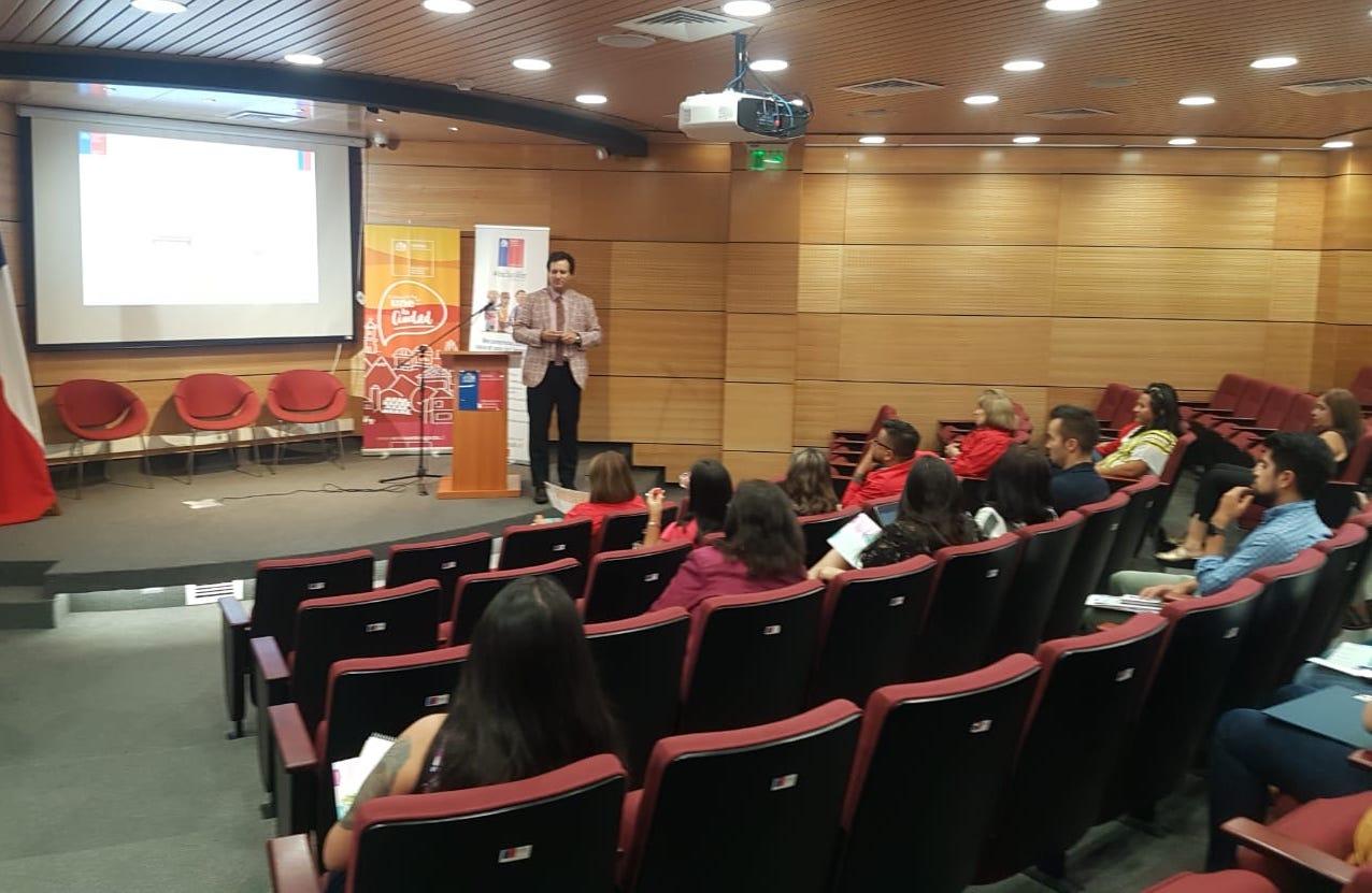 Abogado Convenio CAJTA - SENADIS de Antofagasta realiza capacitación