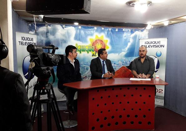 Abogados de la Corporación son entrevistados en Iquique TV por campaña sobre derecho laboral