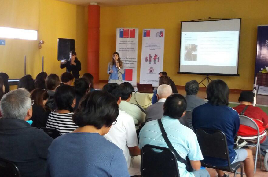 Exponen en Arica sobre Ley 21.015 de Inclusión Laboral de las Personas con Discapacidad