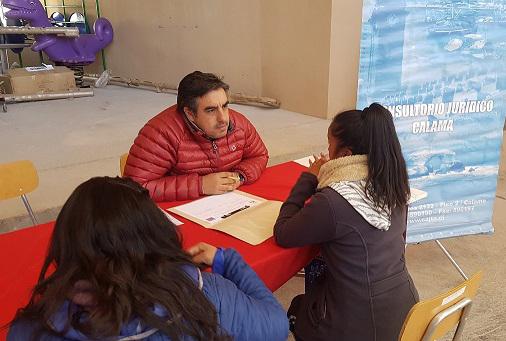 CAJ de Antofagasta participa en Tu Gobierno Presente en Ollagüe