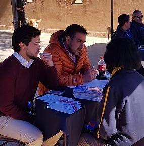 Corporación participa en Plaza de Justicia en San Pedro de Atacama