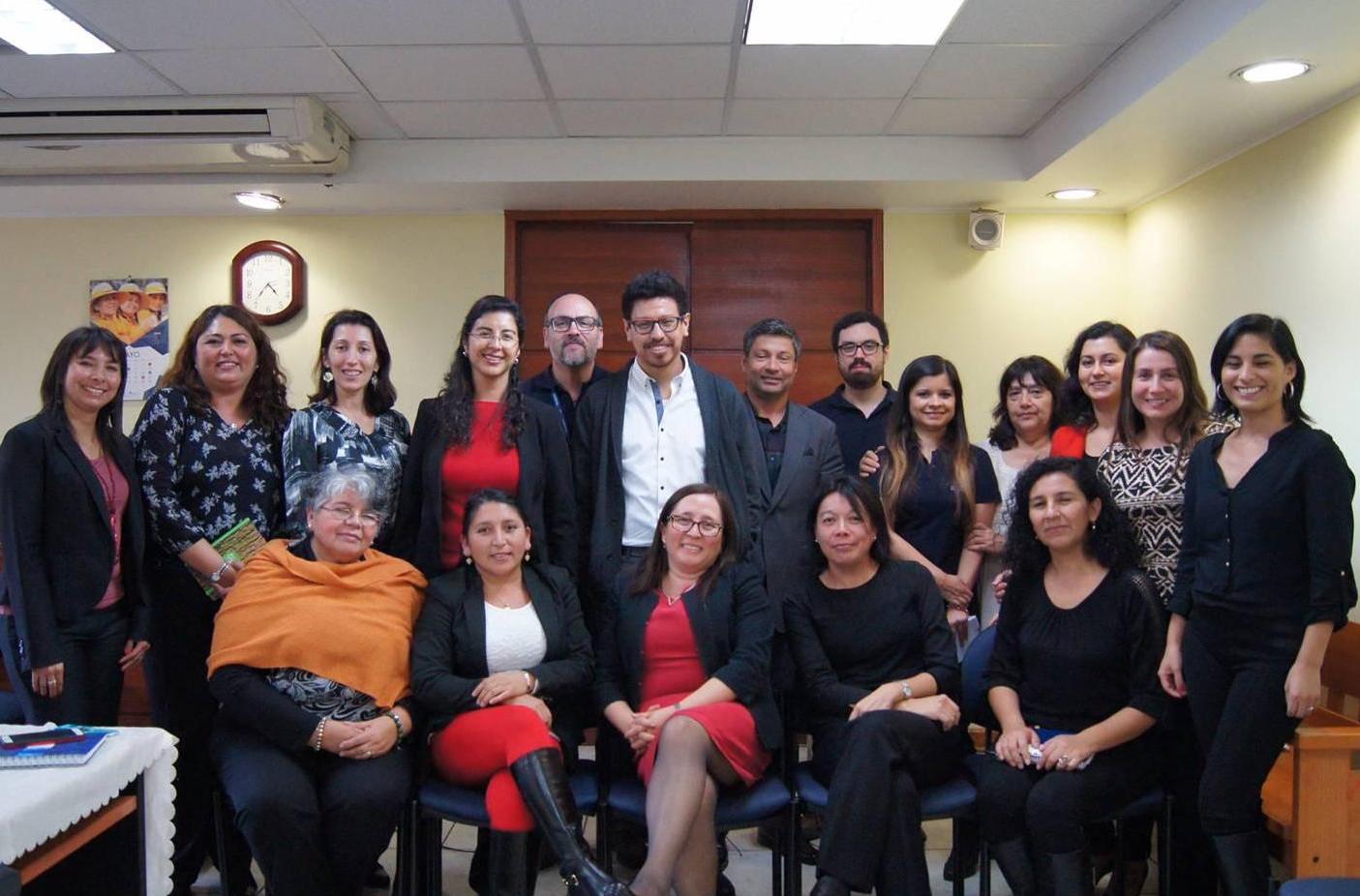 CAVI de la Región de Antofagasta Explica su Modelo de Atención al Tribunal de Familia
