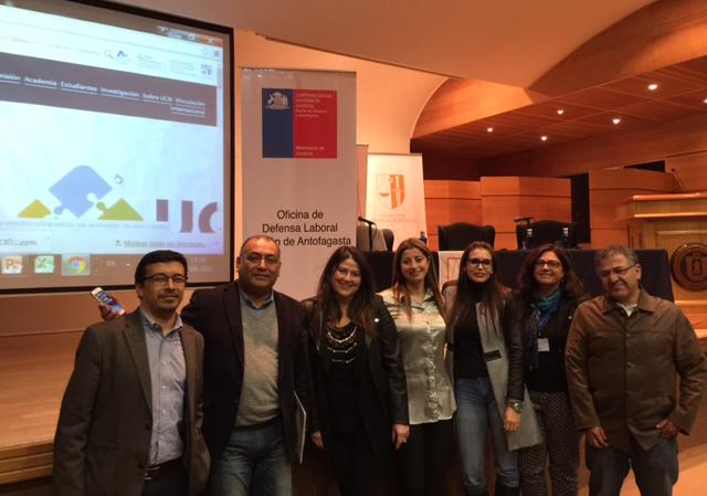 CAJTA Participa en las XIII Jornadas de Derecho del Trabajo y Seguridad Social en Antofagasta