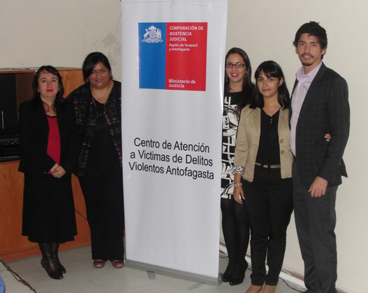 CAVI de la Región de Antofagasta Capacita en Delitos Sexuales
