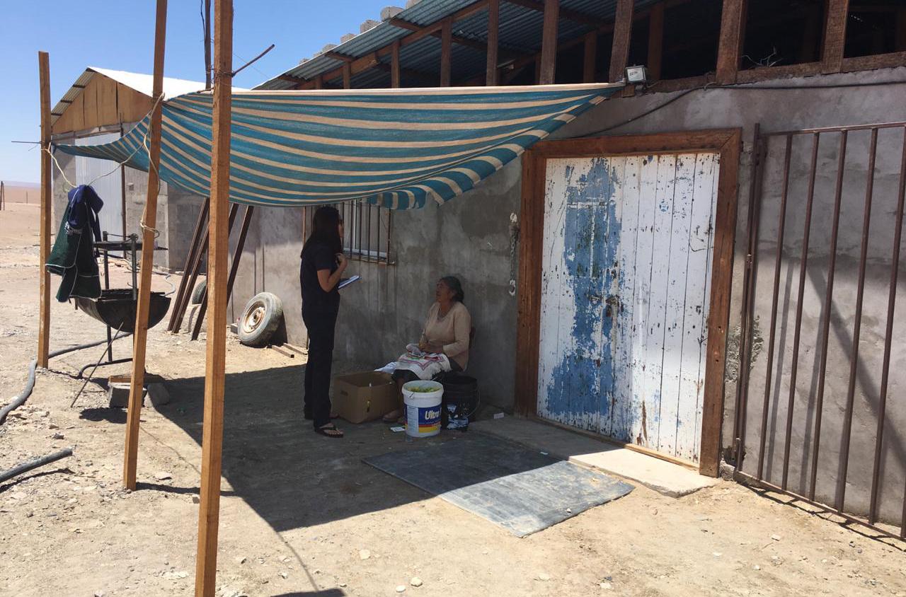 Consultorio Móvil del Tamarugal en Mamiña, Matilla y  Pica