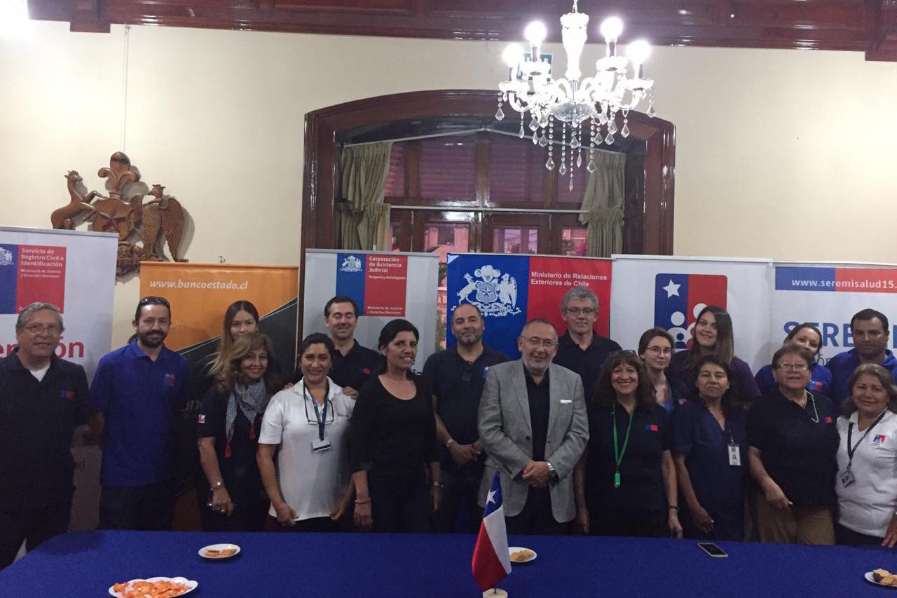 Gobierno en Terreno en Arequipa y Tacna