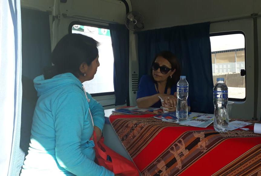 Consultorio Jurídico Móvil de Arica y Parinacota participó en el Plaza de Justicia realizada en LLoysas