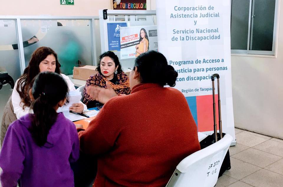 En Iquique informan sobre las Corporaciones en Consultorio Cirujano Aguirre