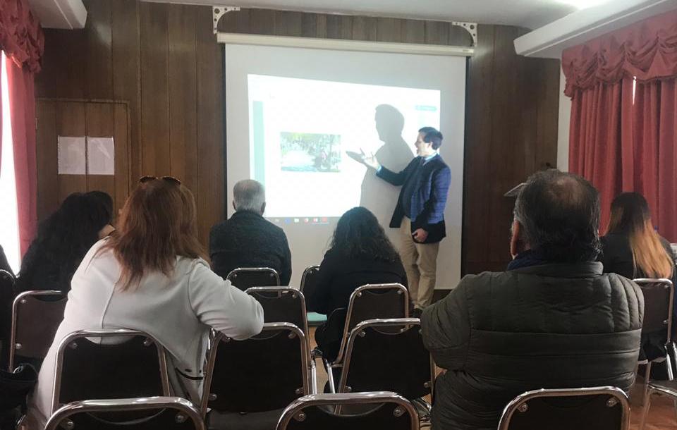 Abogado Convenio CAJTA - SENADIS Antofagasta realizó capacitación a diversos servicios públicos